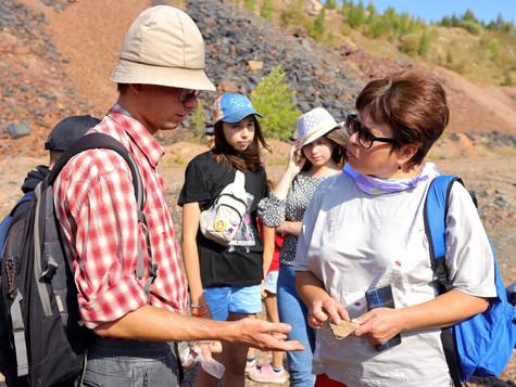 Новые открытия юных геологов