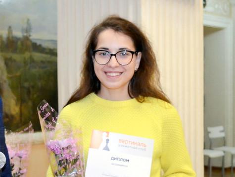 Чемпионка Челябинска - саткинская шахматистка