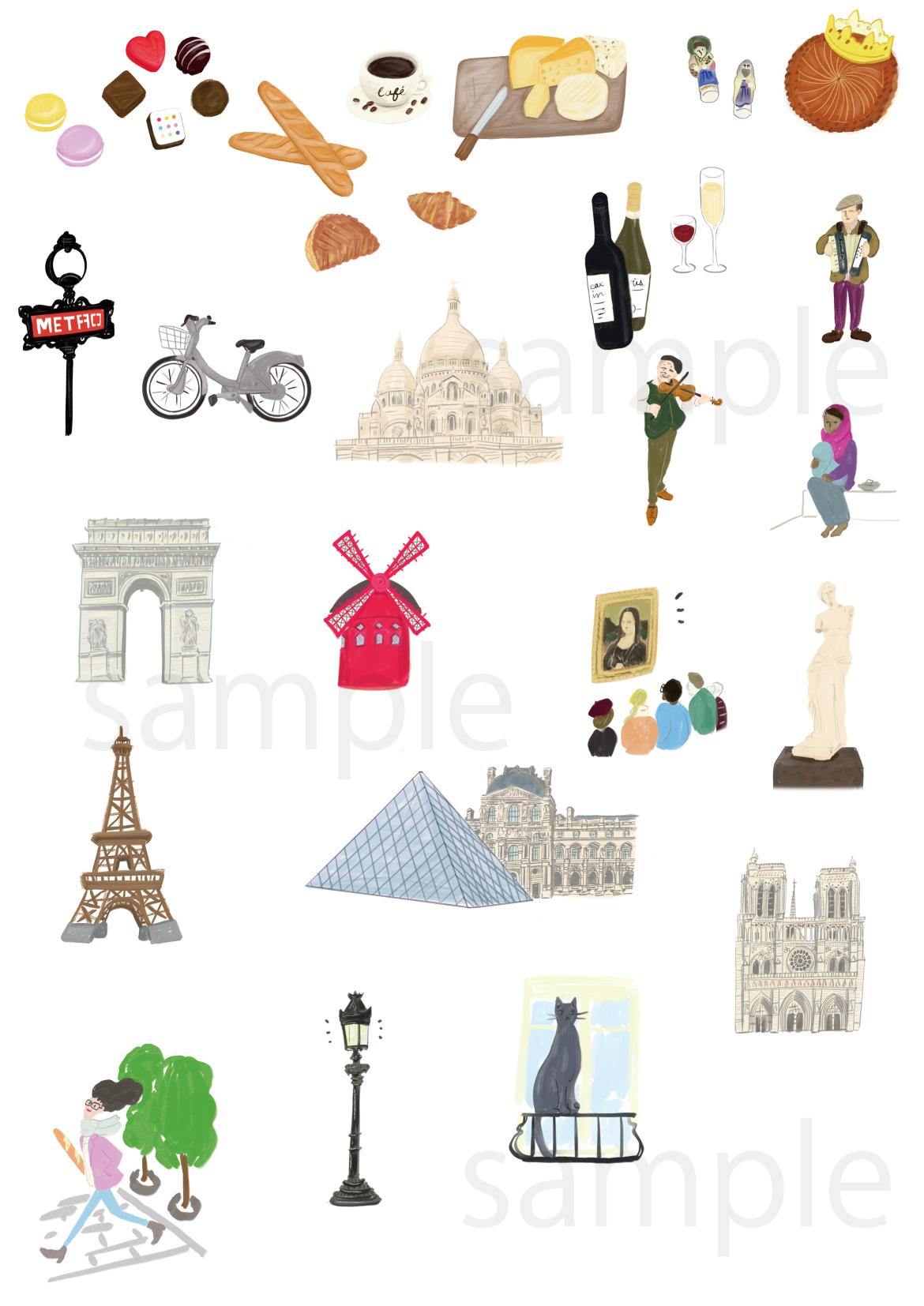 パリからー