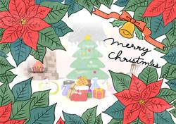 クリスマス ポインセチア
