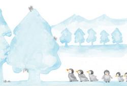 クリスマスペンギン