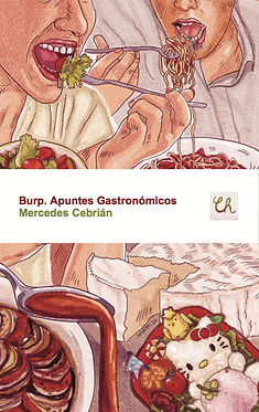 Burp. Apuntes Gastronómicos, de Mercedes Cebrián