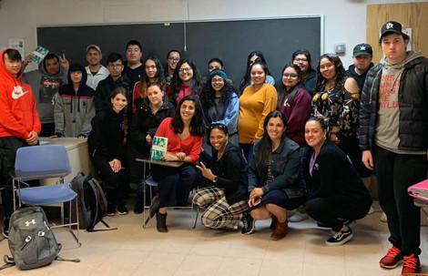 CUNY students read Passages during the Spring semester
