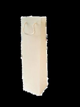 Geschenkverpakking 1 fles (wine bag wit)