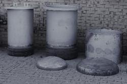 POTS IN VARIOUS STEEL