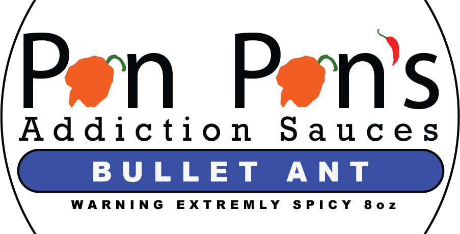 FREE shipping (Buy 4 or More) - Bullet Ant Warning Extremely Spicy (DRY DIP) 8oz