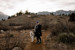 Cooper and I in Colorado, where we used to live.