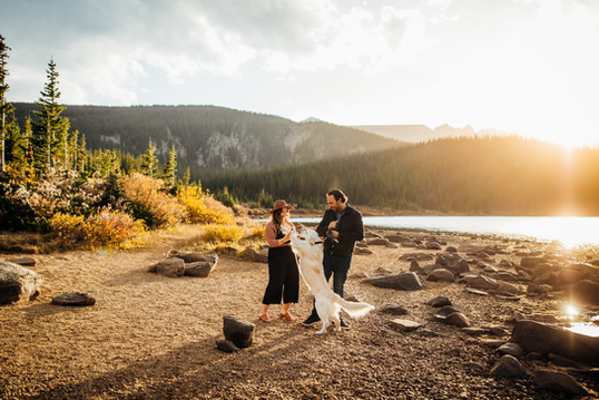 Our engagement photos in Colorado taken by the amazing Mallory Munsen Photography