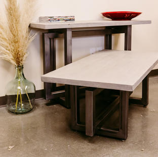 Concrete, Wood & Steel Set - AVAILABLE