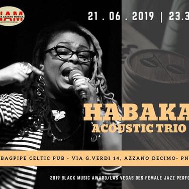 Habaka Acoustic Trio Festa Della Musica.
