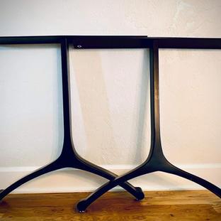 Custom Wishbone Steel Legs