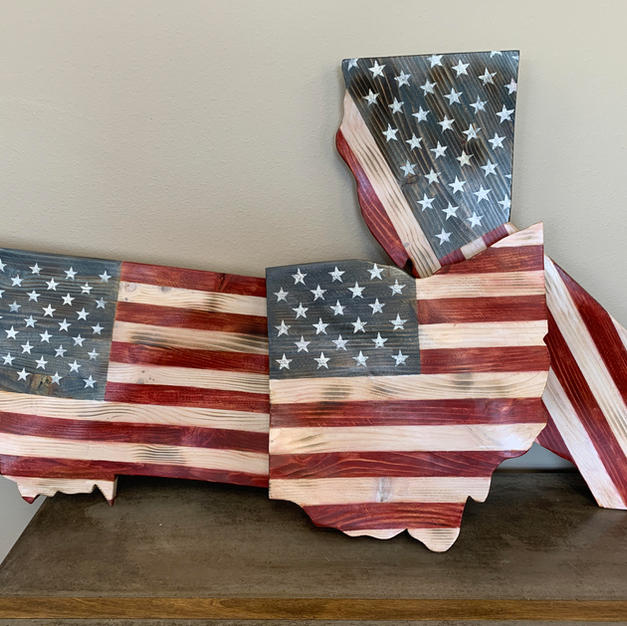 American Flag - sample states
