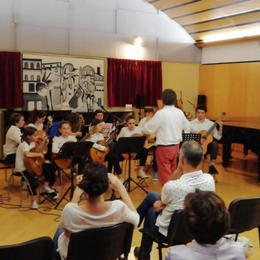 Ensemble Chitarre M° Mongiat - 3 Giugno
