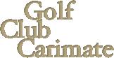 Golf Club Carimate.