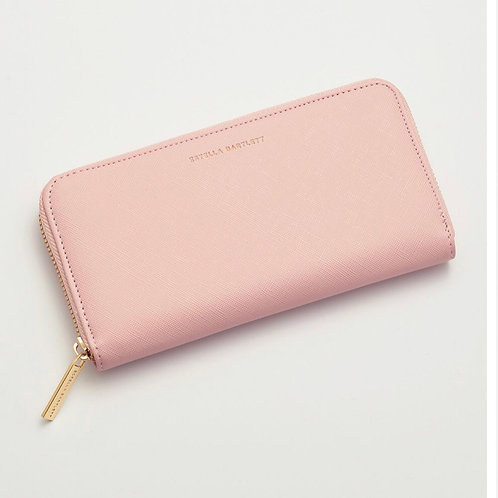 Blush Zip Wallet