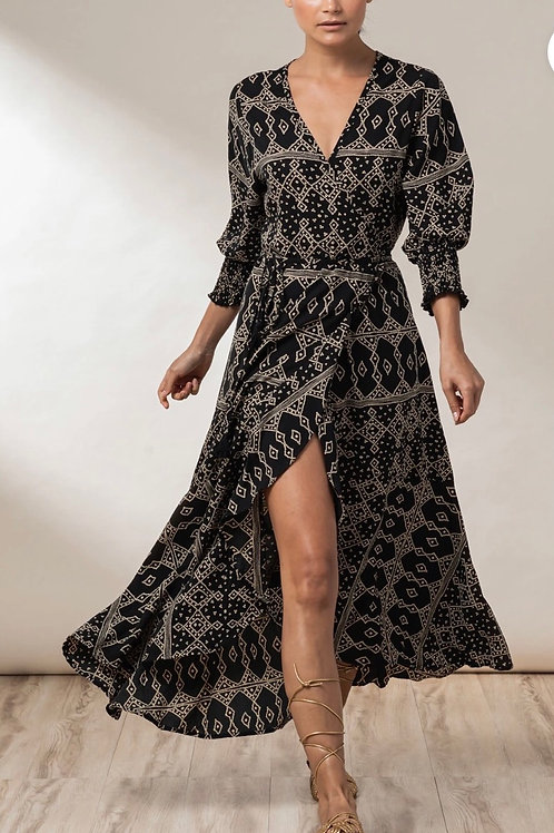 BEACHGOLDBALI Elora Wrap dress
