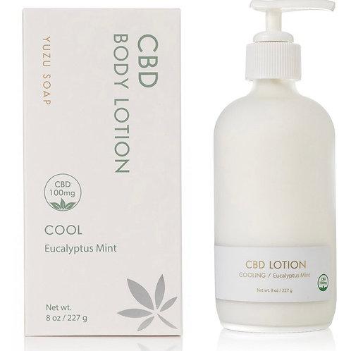 Yuzu CBD body lotion