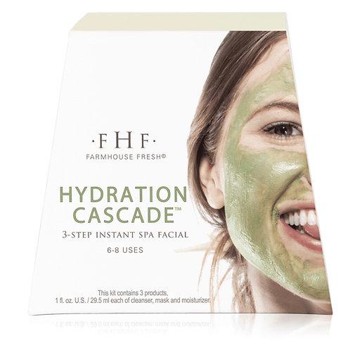 Hydration Cascade 3 Step Instant Spa Facial