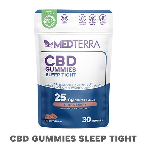 Medterra CBD Sleep Tight Gummies