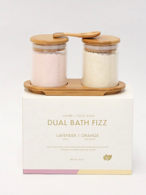 Yuzu Dual Bath Fizz Lavender/Orange