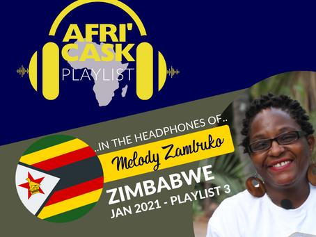 Afri'Cask Zimbabwe: Dans le Casque de Melody Zambuko