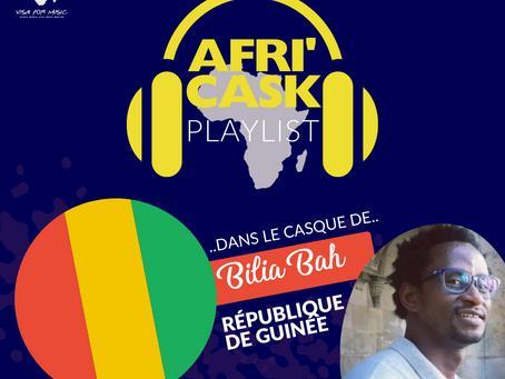 Afri'Cask République de Guinée: Dans le casque de Bilia Bah