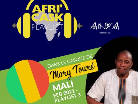 Afri'Cask Mali: Dans le Casque de Mory Touré