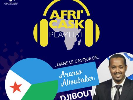 Afri'Cask Djibouti: Dans le casque de Aboubaker Ararsso