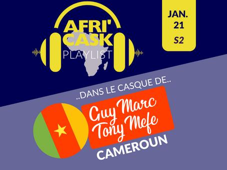 Afri'Cask Cameroun: Dans le Casque de Guy Marc Tony Mefe