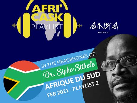 Afri'Cask Afrique du Sud: Dans le Casque de Dr. Sipho Sithole