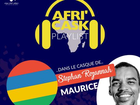 Afri'Cask Ile Maurice : Dans le casque de Stephan Rezannah