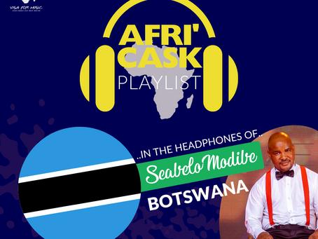 Afri'Cask Botswana : Dans le casque de Seabelo Modibé