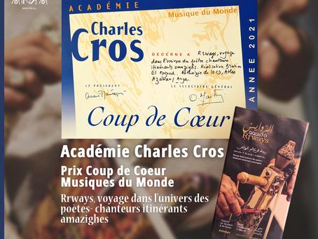 L'anthologie des Rrways reçoit le Prix Coups de Coeur Musiques du Monde de l'Académie Charles Cros