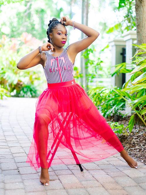 Adidas High Rise Tulle Skirt