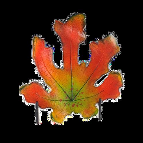 Cast Glass Fig Leaf