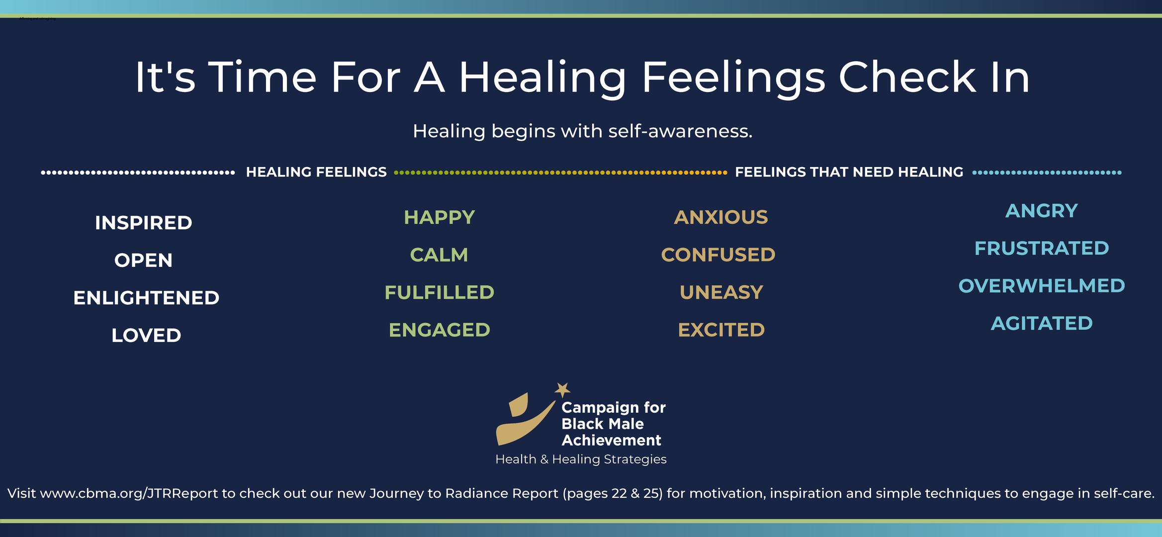 Healing feelings check in