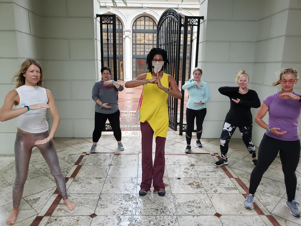 Qigong at the Breakers