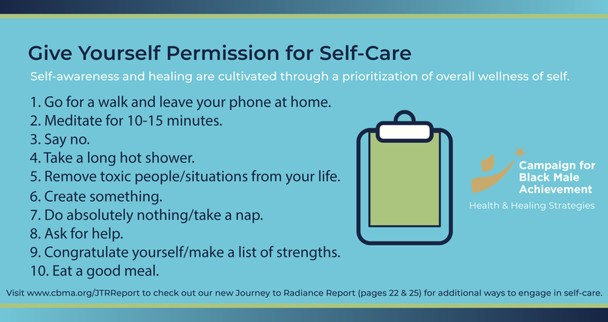 Give yourself permission for self-care