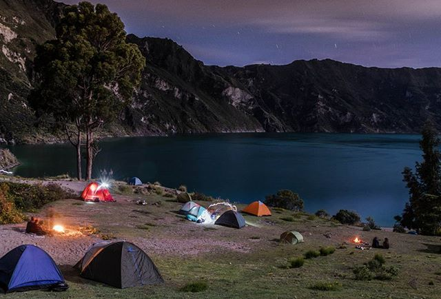 Camping-Quilotoa