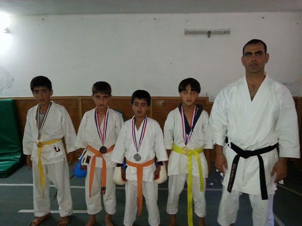 Sensei Younis & Students