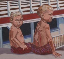 Playland Pier mural