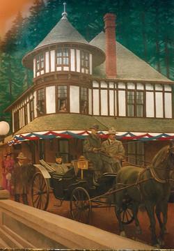 Wallace Idaho Historical Depot