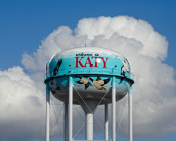 Katy, Texas Freeway tank