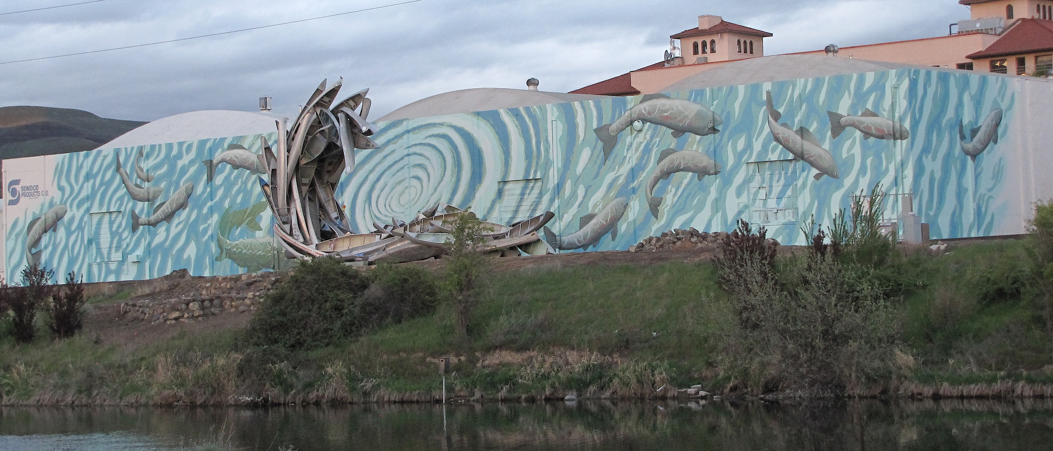 Salmon Mural, Lewiston, ID