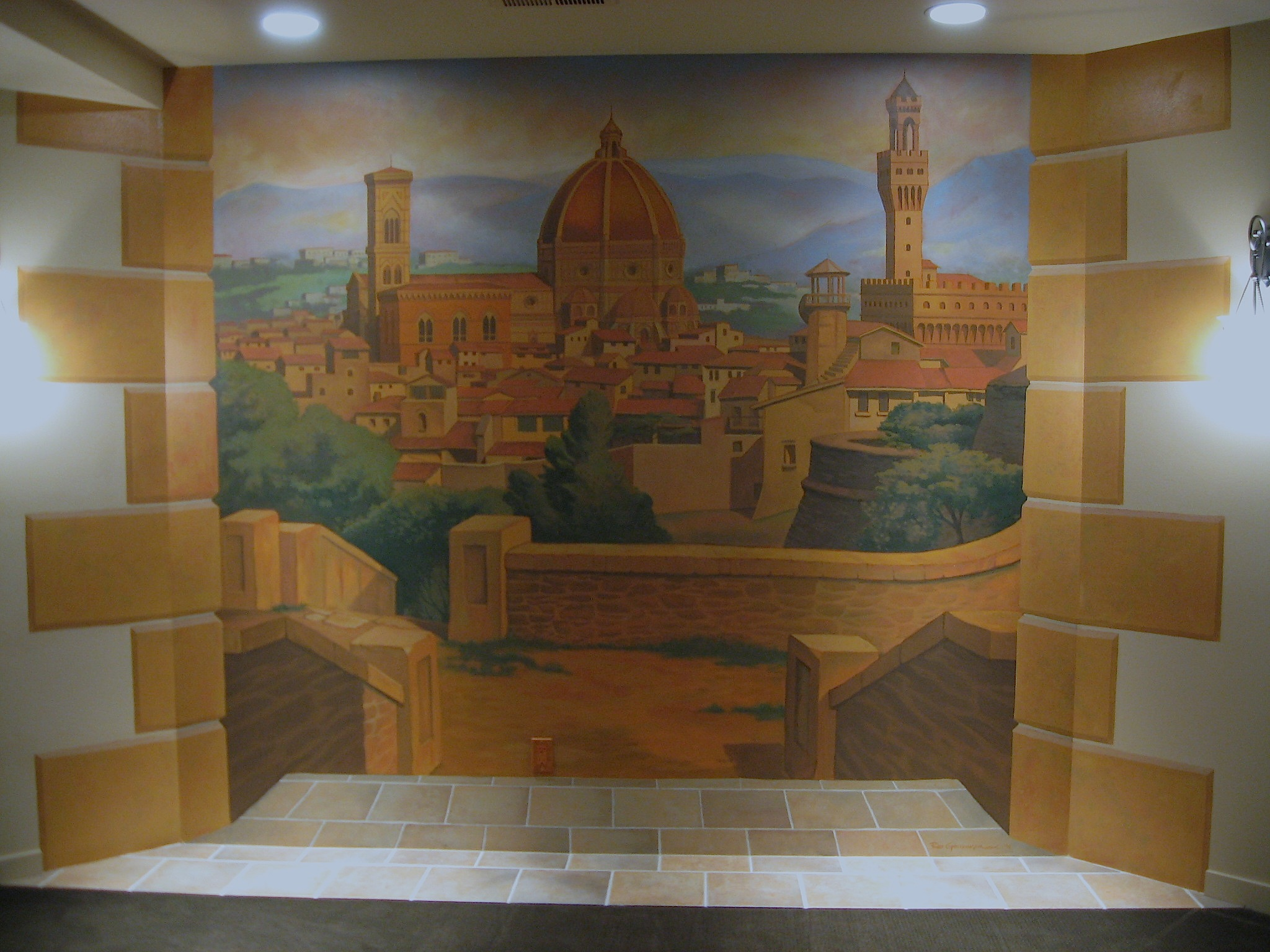 Florence Mural, Newport, WA