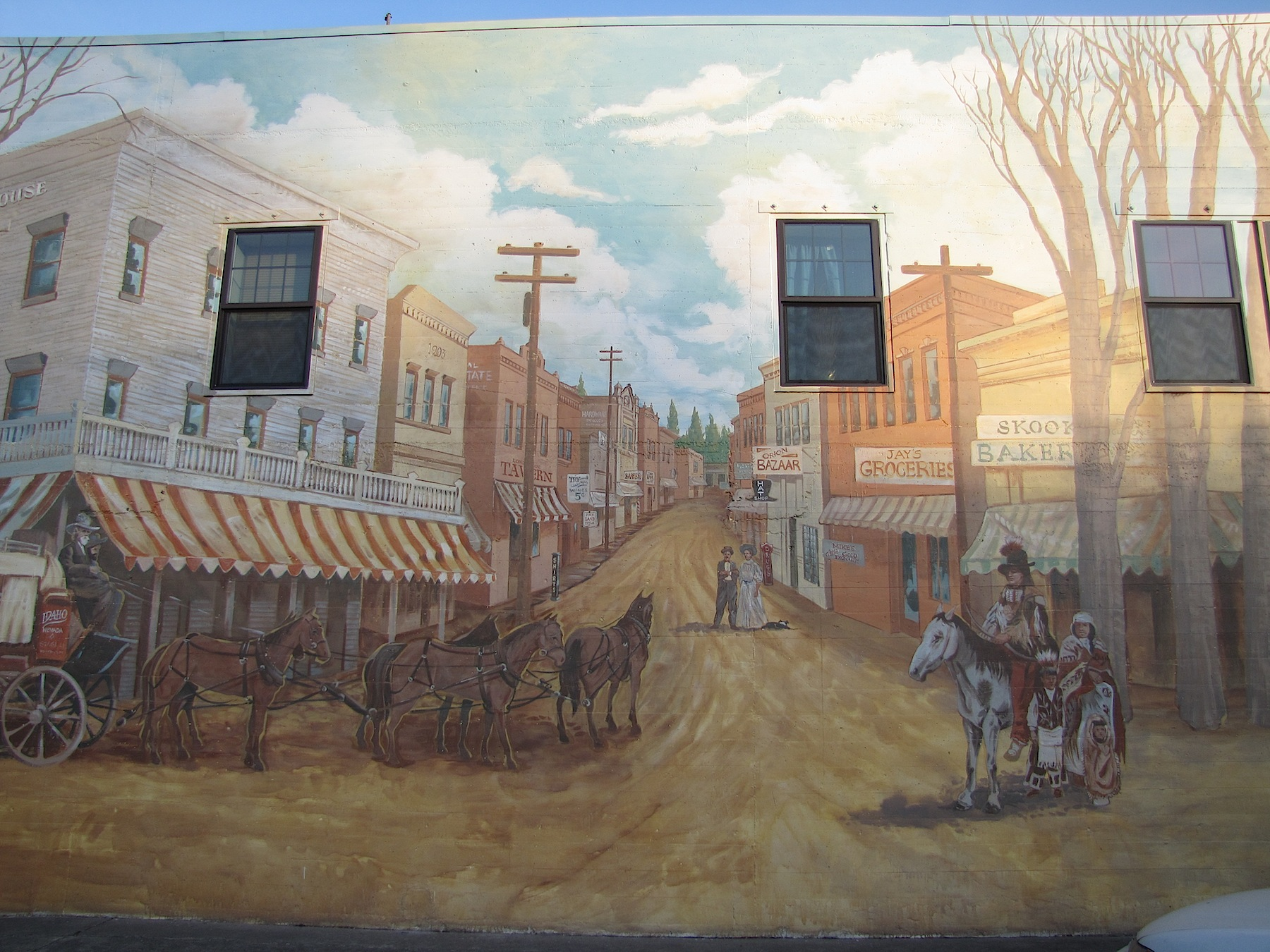 Historical Mural, Lewiston, ID