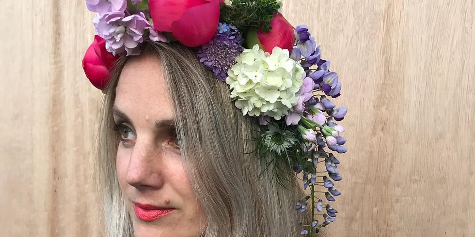 Peony Flower Crown