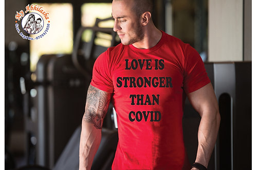 LOVE IS STRONGER THAN COVID