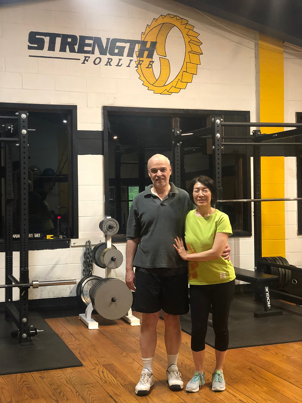 Clients, Strength for Life, two people