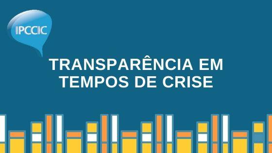 Transparência em tempos de crise